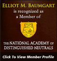 The National Academy of Distinguished Neutrals